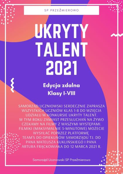 Ukryty talent 2021